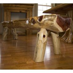 rustic+cedar+furniture | Aromatic Red Cedar 6' Bench