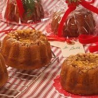 Cooks.com - Recipe - Mini Pumpkin Pecan Orange Soaked Cakes