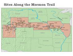 mormon pioneers | and talk about Mormon Trail, Jefferson Territory, Mormon Trail, Mormon ...