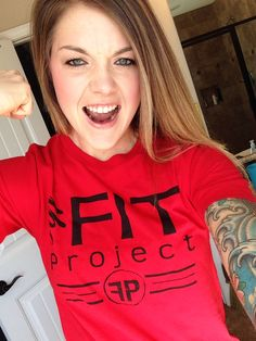 The FiT Project tee shirt #crossfit #fitness #strength #cardio #abs #legs #workout www.fitprojectlab.com