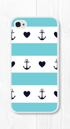 iPhone Case Anchor iPhone 5c Case Heart iPhone 5