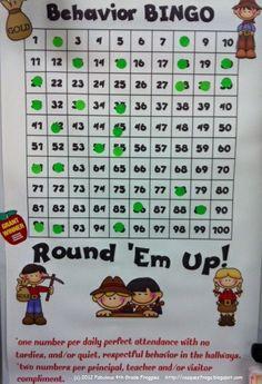 behavior bingo, behavior rewards, positive behavior, behavior incentives, behavior charts, behavior management, reward system, classroom management, teacher