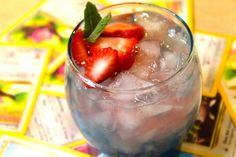 JigglyPuff - 1 oz Whipped Vodka, .5 oz Blue Curacao, 3 oz Raspberry Lemonade