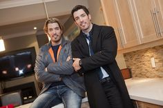 The Property Brothers, I would sit and watch this all the time