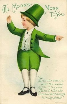 The morn's morn to you! #St_Patricks_Day #cards #Ireland #green