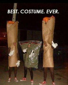 Homemade Halloween costume