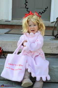 Cindy Lou Who Costume - Halloween Costume Contest via @Costume Works