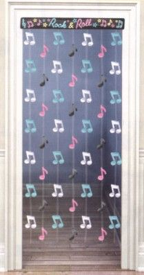 Musical note garland
