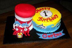 Dr. Seuss cakes