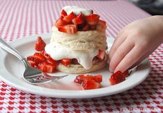 Recipe: Strawberry Shortcake