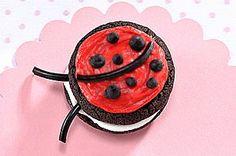 OREO CAKESTERS Ladybug recipe