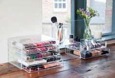 lovely makeup storage