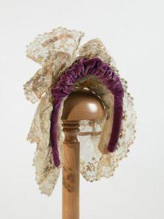 1880  MaterialsLace, Velvet