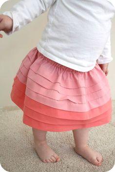 pleated skirt tutorial