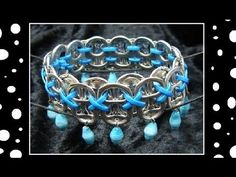 How To Make Recycled Pop Tab Jewelry - Craft Tutorial 13 (Soda Tab Bracelet Tutorial)
