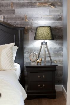 Goregous wood accent wall