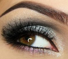 Silver Sweetie - Click Pic for 18 Makeup Tips for Brown Eyed Girls