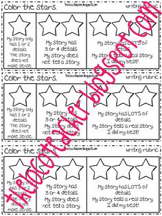 The open door classroom: hamburger writing rubric freebie