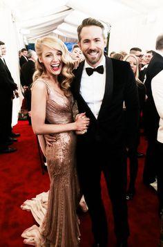 Blake Lively and Ryan Reynolds 2014