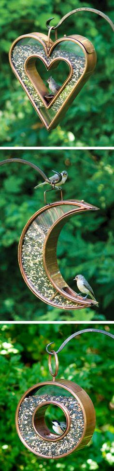 Fly-Through Bird Feeders ♥