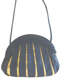 Brio Navy Blue Vintage 80s Purse
