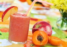 healthy smoothie recipes, summer drinks, health care, sunris, health tips, apricot, food processor, health foods, healthy smoothies