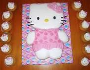 helly kitty cake/cupcakes - Bing Images