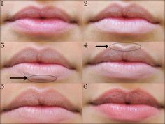 how to apply lip liner to make lips look bigger