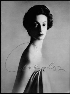 Richard Avedon - Marella Agnelli, 1953