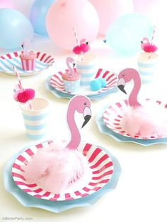 Flamingo DIY party I