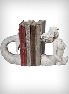 Mermaid bookends $42