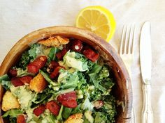 The Caesar Salad of MY DREAMS!!! www.jillianharris.com