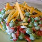 Bacon Ranch Pea Salad