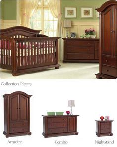 Baby Cache Heritage Cherry - Our current favorite furniture set!