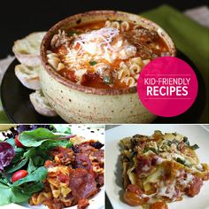 Kid-Friendly Italian Crockpot Recipe for crockpot pizza/lasagne/spaghetti  bake! Cheesy and delicious!