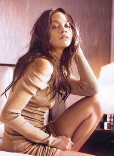 Zoe Saldana, dang, hot damn!
