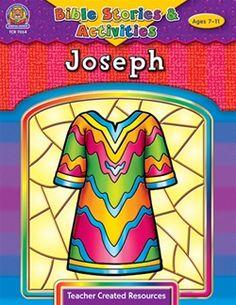 Joseph Bible Story Activity Book