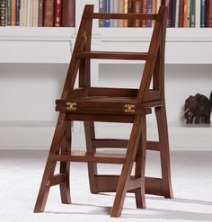 Library Ladder Chair - Zoom