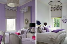 purple girls room Northworks Architects + Planners