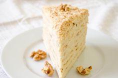 Medovik - Honey cake - Tort miere si smantana