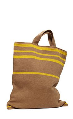 bag with yellow stripes