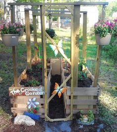 Make Your Own Kids Garden. Great way to give the kids something to do while you garden and have even more fresh veggies and fruits!