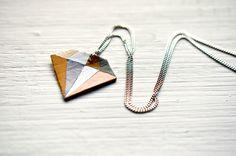 Rock this multi-metallic DIY diamond with pride. #DIY
