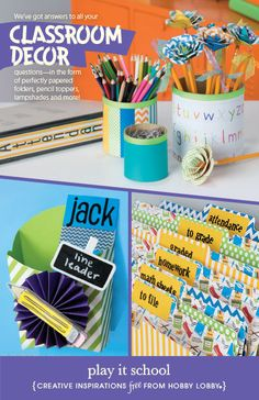 Teachers, get your classroom organized and looking spectacular with these DIY classroom decor ideas!