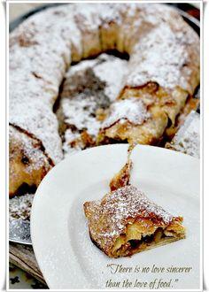 Jela savijace strukle strudle on pinterest apple - Les cuisines de garance ...