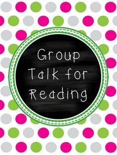 tch idea, classroom idea, talking points reading groups, read group, prek8th grade, group idea, read idea