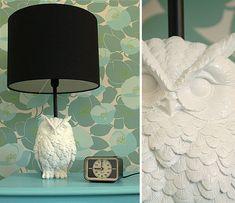 DIY owl lamp #owl #lamp #DIY
