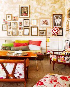 Cheerful living room!