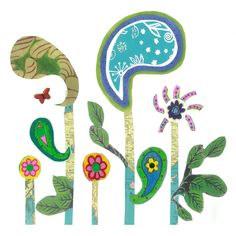garden party design new design for wallpaper