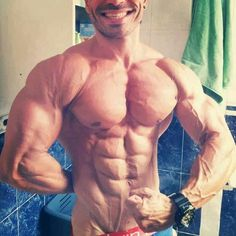 #motivation #ripped #abs #shredded #chest #bodybuilding #inspiration #veins